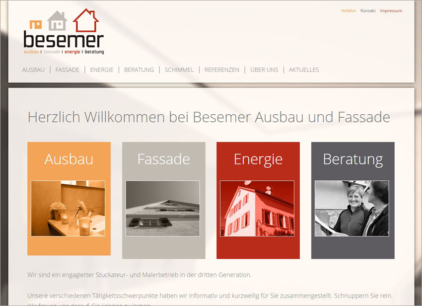 FS|MEDIEN - Rutesheim - Besemer – Ausbau & Fassade - Homepage - Energieberatung