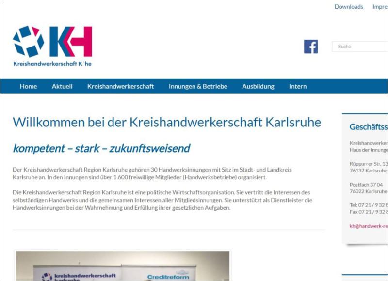 FS|MEDIEN - Rutesheim - Homepage - Kreishandwerkerschaft-Karlsruhe