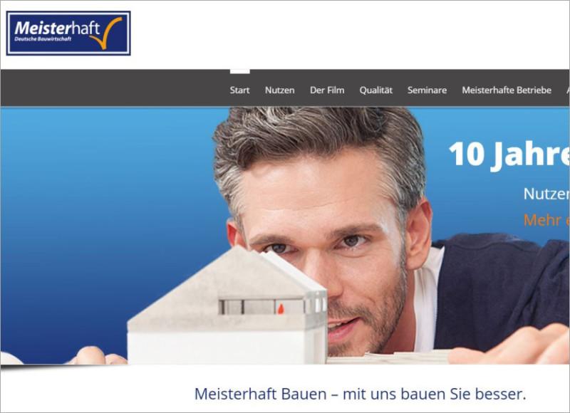 Homepage für Bauunternehmen, FS|MEDIEN - Rutesheim - Meisterhafte Bauunternehmen in Baden-Württemberg- Homepage