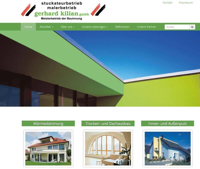 FS|MEDIEN - Rutesheim - Stuckateur- und Malerbetrieb Kilian - Außenfassade