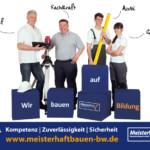 FS|MEDIEN - Internetagentur - Hompage - Meisterhaft Bauen BW – Werbekampagne - Werbeplakate