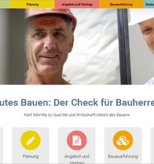 FS|MEDIEN - Internetagentur - Hompage - Der Bauherren Check - Bauausführung