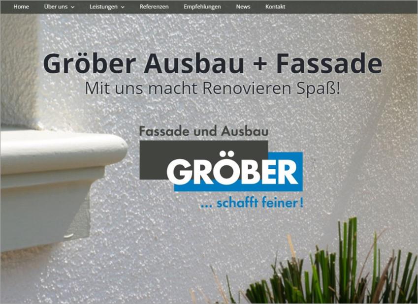 FS|MEDIEN - Internetagentur - Hompage - Christian Gröber GmbH & Co. KG - Stuttgart - Ausbau - Fassade - Renovieren