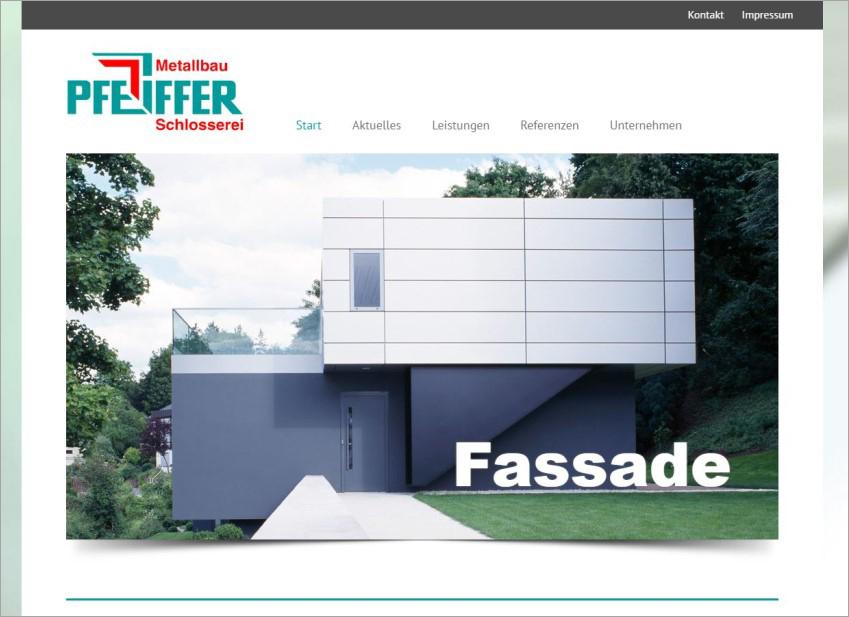FS|MEDIEN - Internetagentur - Hompage - Metallbau Pfeiffer - Sachsenheim - Treppen und Geländer