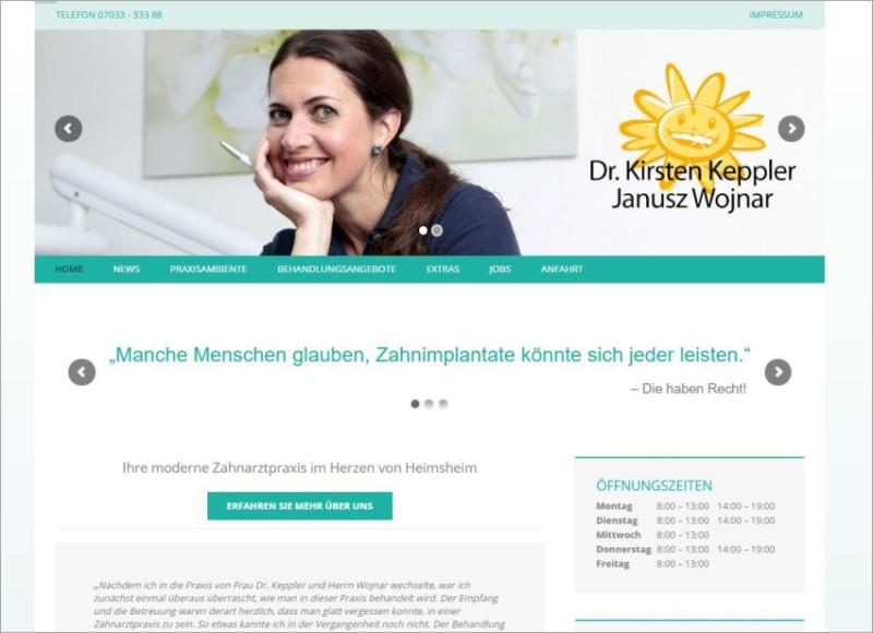 FS|MEDIEN - Internetagentur - Homepage - Zahnärzte - online