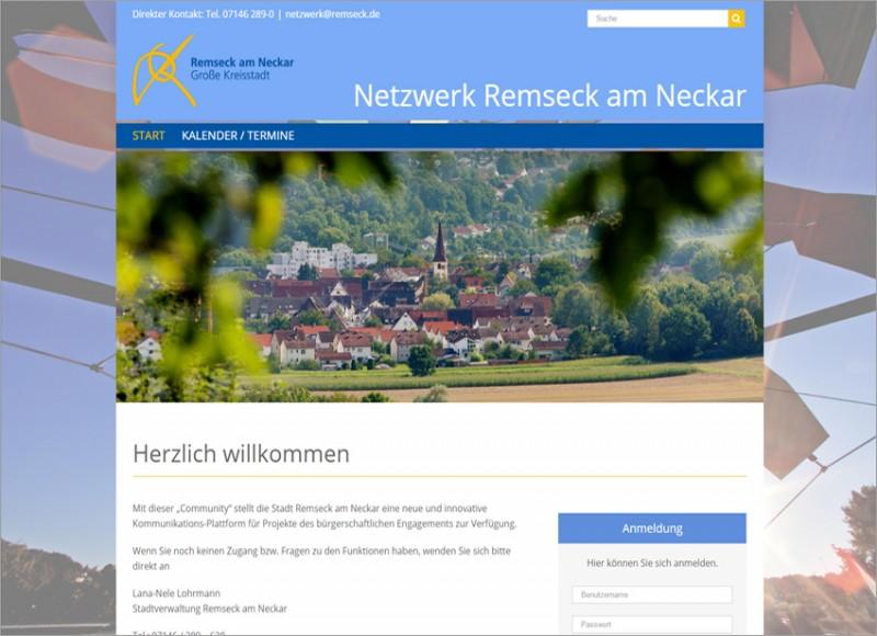 Internetargentur - Fs Medien - Stadt Remseck - Ehrenamt