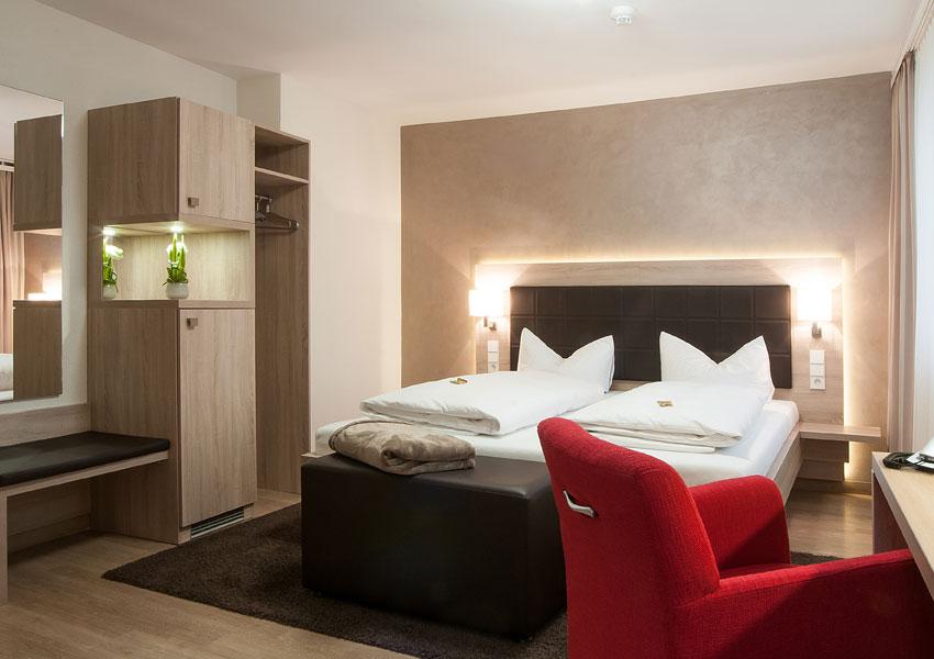 Internetargentur - Fs Medien - Hotel Hirsch Doppelzimmer
